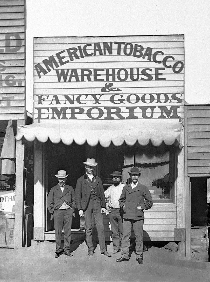 American tobacco warehouse by Holtermann